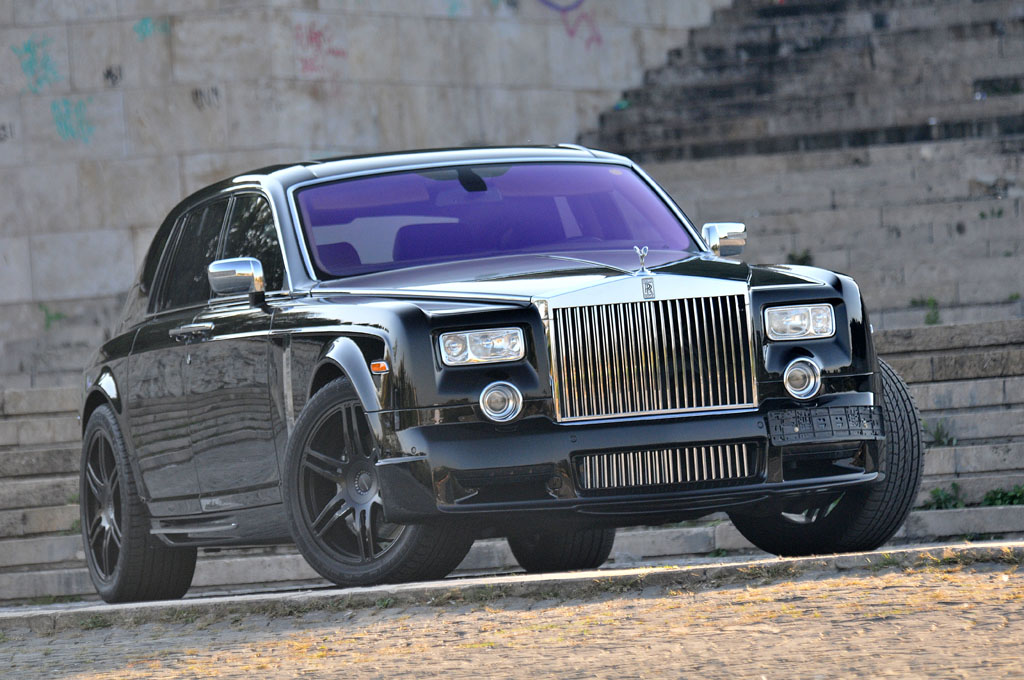 Rolls-Royce Phantom Mansory - Rent-a-Car Bucuresti Car ...